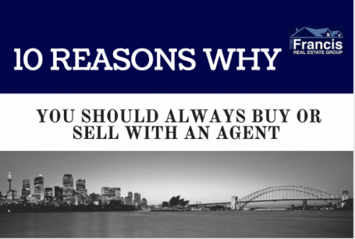 10 Reasons Why You Should Always Buy or Sell With an Agent